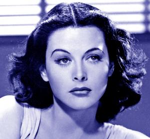 Actress/inventor Hedy Lamarr